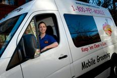 Ana In Aussie Pet Mobile Van