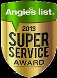 Angies List Super Service Award 2013